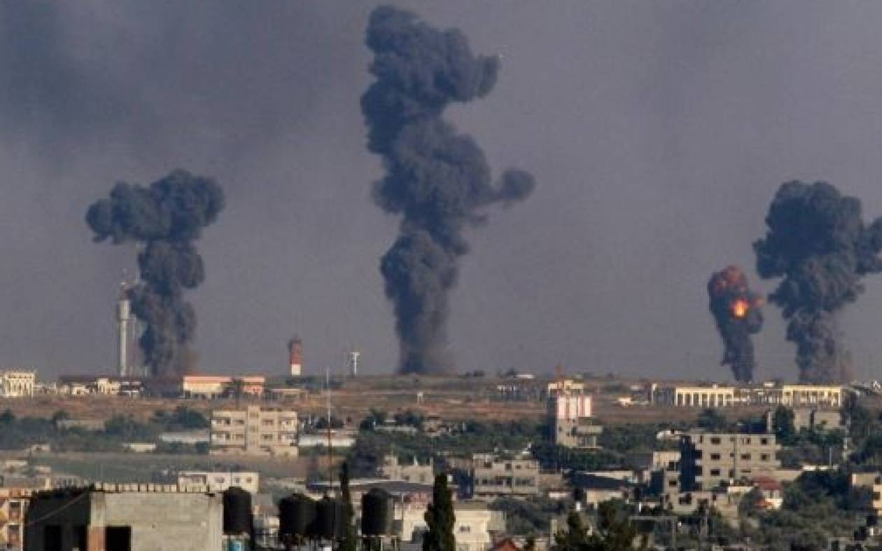 Αεροπορική επιδρομή στη Γάζα από τους Ισραηλινούς