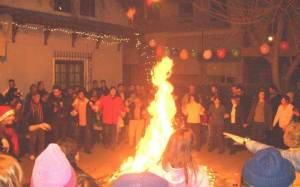 Έθιμα Χριστουγέννων: «Πάντρεμα της φωτιάς»