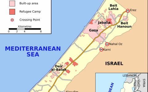 Ανταλλαγή πυρών με νεκρό, στη Λωρίδα της Γάζας