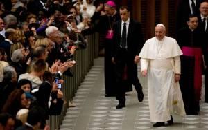 Το χριστουγεννιάτικο μήνυμα του Πάπα Φραγκίσκου