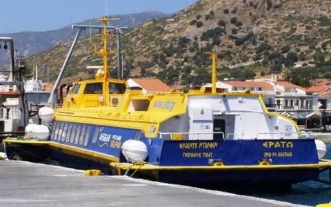 Ταλαιπωρία για επιβάτες «ιπτάμενου δελφινιού» στη Σκόπελο