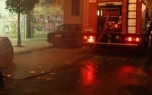 Φωτιά σε διαμέρισμα από βραχυκύκλωμα τηλεόρασης