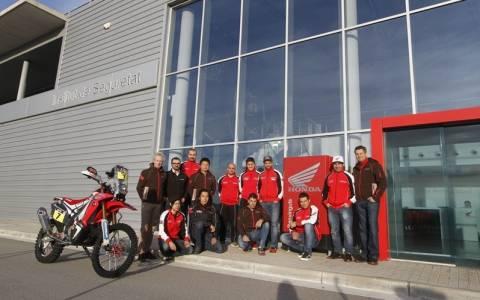 Rally Dakar 2015: Η Τελική πρόβα για την ομάδα HRC
