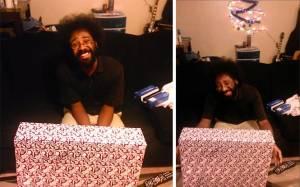 ΣΥΓΚΙΝΗΤΙΚΟ: Η αντίδραση ενός άνδρα στο δώρο της φίλης του