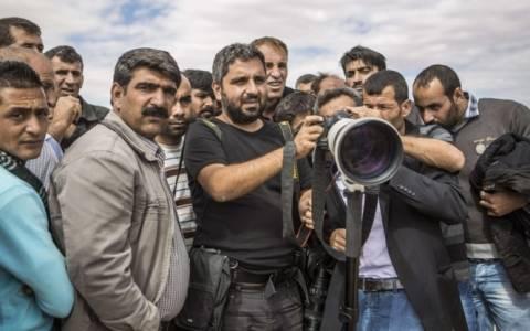 Ο τούρκος  Bulent Kilic φωτογράφος της χρονιάς