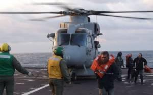 Norman Atlantic: Αποδεσμεύθηκαν τα μέσα των Ενόπλων Δυνάμεων