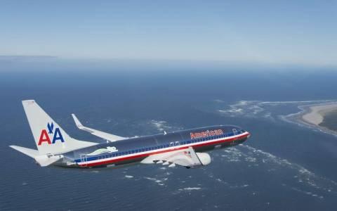 Λαχτάρησαν οι επιβάτες πτήσης της American Airlines