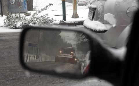Καιρός: Προβλήματα από χιονοπτώσεις στην Αττική
