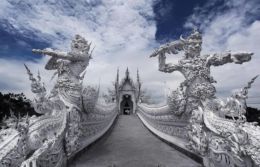 Wat Rong Khun στην Ταϋλάνδη