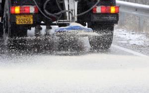 Καιρός: Έντονη χιονόπτωση στη Μαλακάσα - Πού χρειάζονται αλυσίδες