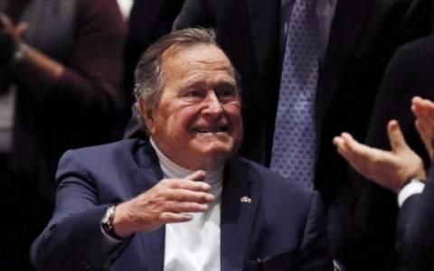 ΗΠΑ: Βγήκε από το νοσοκομείο ο Τζορτζ Μπους ο πρεσβύτερος