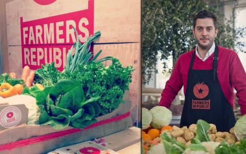 Farmers Republic: «Λαϊκή αγορά» χωρίς... μεσάζοντες