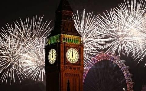 Λονδίνο: Μεθυσμένη Πρωτοχρονιά