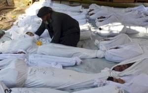 Συρία: 76.021 νεκροί από τις συγκρούσεις το 2014