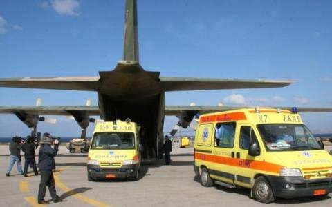 Αερογέφυρα ζωής για 7 ασθενείς μέσα στις γιορτές