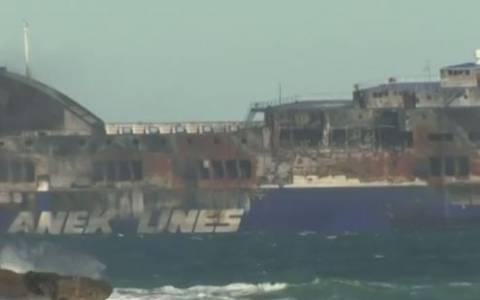 Νόρμαν Ατλάντικ: Η άφιξη στο λιμάνι του Μπρίντιζι (vid)