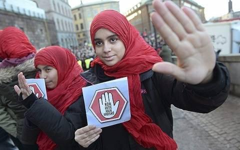 Σουηδία: Χιλιάδες διαδήλωσαν κατά της ισλαμοφοβίας