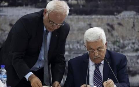 Οι Παλαιστίνιοι έδωσαν τα χαρτιά για το ΔΠΔ