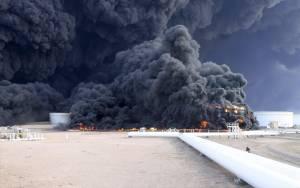 Λιβύη: Έσβησε η φωτιά μετά από εννέα μέρες στο Ες Σίντερ