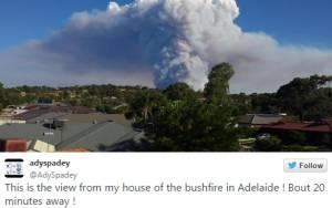 Mαίνεται η φωτιά στην Αυστραλία (video)