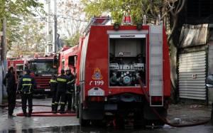 Μυτιλήνη: Καμινάδες πήραν φωτιά