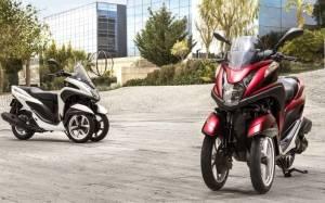 Yamaha: Νέο τρίτροχο Tricity