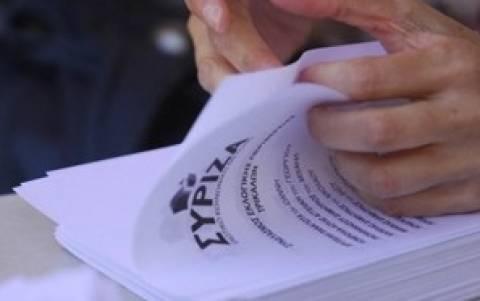 Στα ψηφοδέλτια του ΣΥΡΙΖΑ και οι Οικολόγοι Πράσινοι