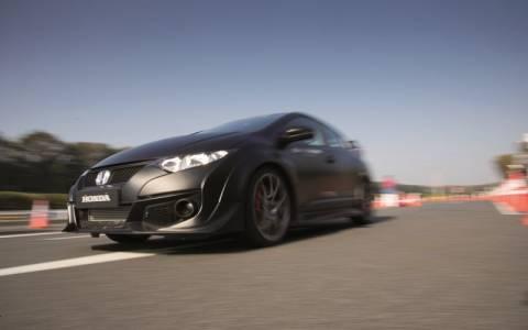 Στην πίστα δοκιμών Tochigi η Honda συνεχίζει την εξέλιξη του νέου Civic Type R