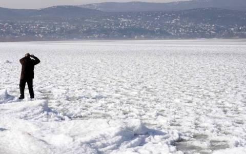 Στην παγωμένη λίμνη Δοϊράνη