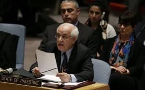 ΟΗΕ: Οι Παλαιστίνιοι θέλουν εκ νέου υποβολή του ψηφίσματος για ανεξαρτησία