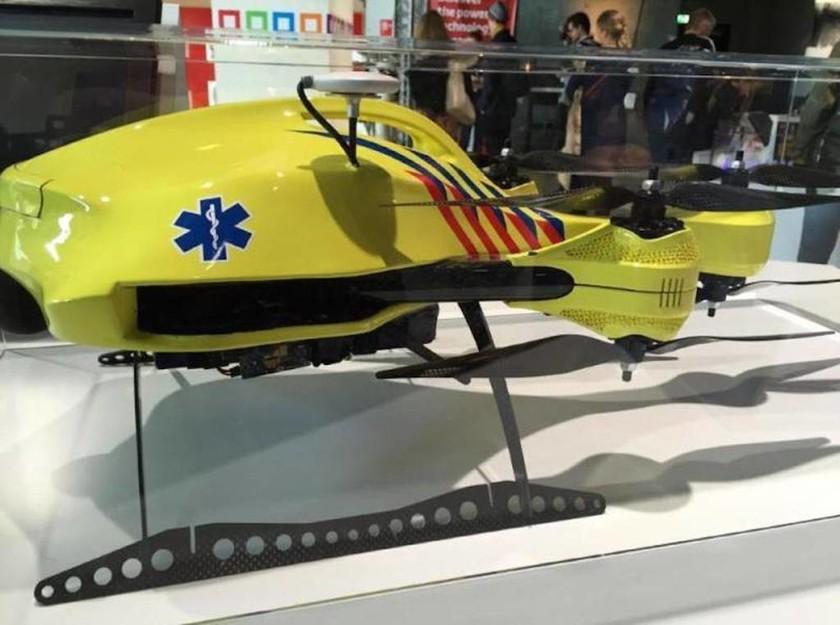 Έρχεται το ιπτάμενο... ασθενοφόρο-drone!