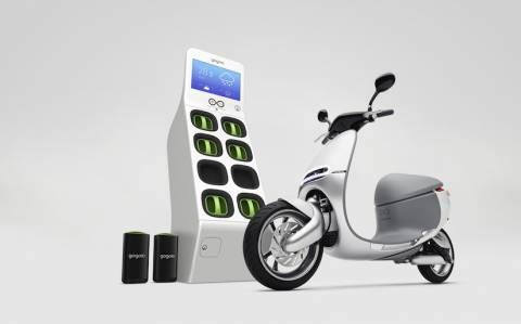 Ένα έξυπνο και ηλεκτρικό scooter