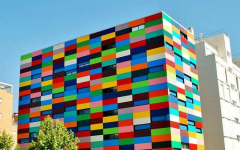 Πολύχρωμα κτίρια σε όλον τον κόσμο (Photos)