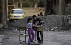 Unicef: Παγίδες θανάτου για 160 παιδιά, σχολεία στη Συρία