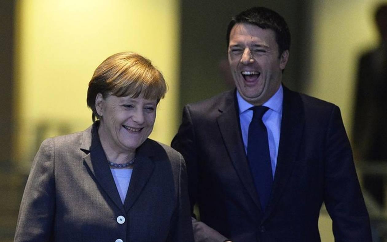 Επίθεση γοητείας ετοιμάζει ο Ρέντσι στη γερμανίδα Καγκελάριο