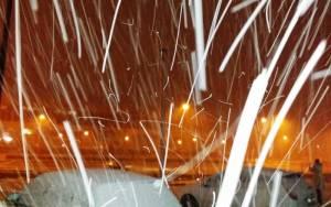 ΤΩΡΑ: Πυκνή χιονόπτωση στα βόρεια προάστια της Αττικής (Pics)