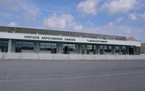 Ακύρωση πτήσεων προς Χανιά λόγω χιονόπτωσης