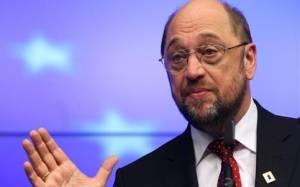 Επίθεση Σουλτς σε Μέρκελ για τις «ανεύθυνες εικασίες» περί Grexit