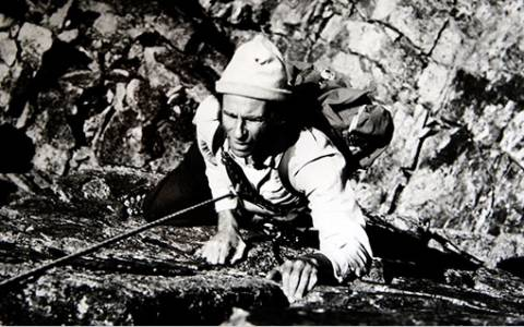 Ο γηραιότερος Ευρωπαίος ορειβάτης είναι 87 ετών - Σκαρφαλώνει απ' τα τρία του