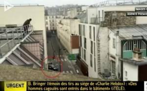 Charlie Hebdo: Η στιγμή της επίθεσης (video)