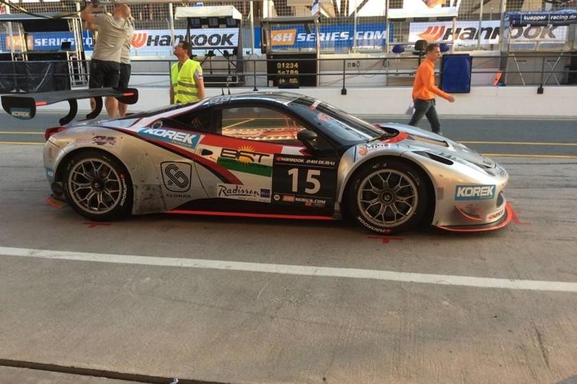 24H Dubai Race:Η Ελληνική συμμετοχή στον 24ωρο αγώνα του Ντουμπάι (η Ferrari με το νούμερο 15)