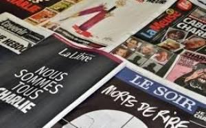 Charlie Hebdo: Στα μαύρα ντύθηκε ο ευρωπαϊκός Τύπος (photos)