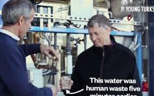 Νερό προερχόμενο από ανθρώπινα κόπρανα... απόλαυσε ο Μπιλ Γκέιτς (vid)