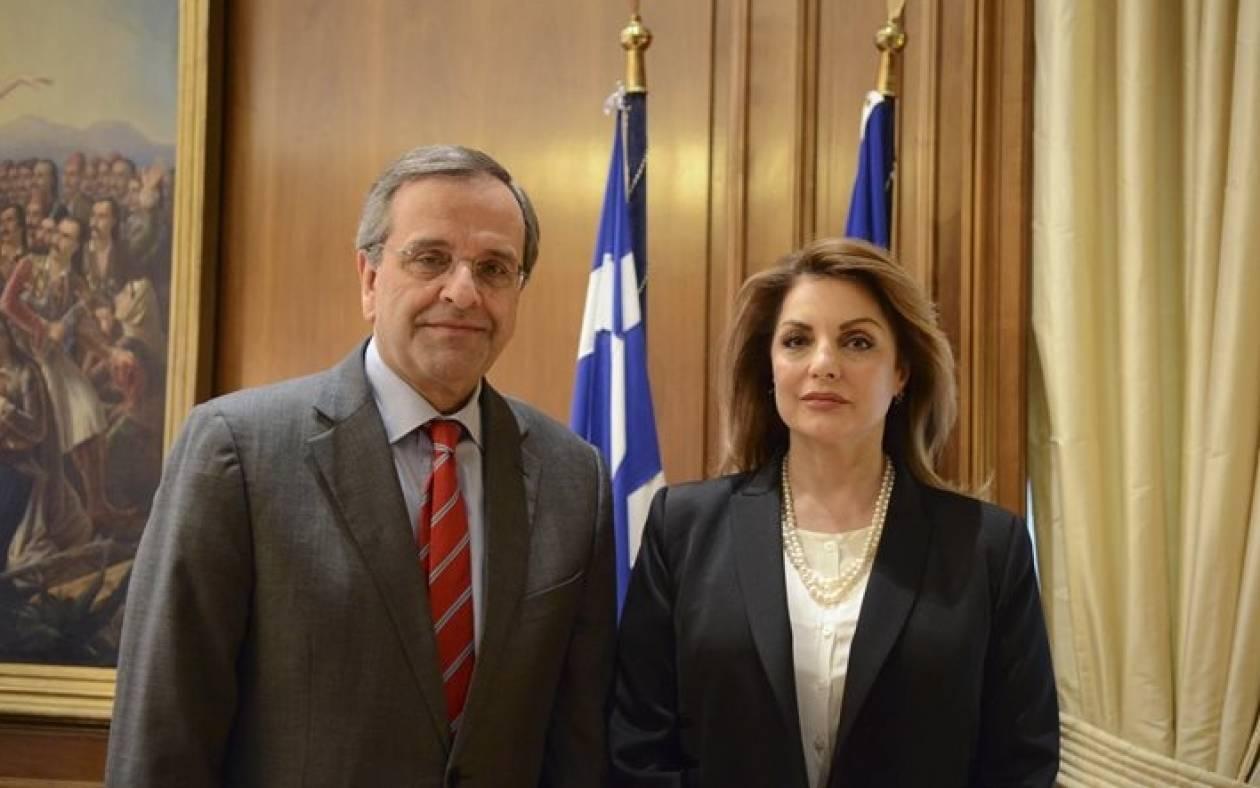 Εκλογές 2015: Χωρίς χαμόγελα τα ενσταντανέ Σαμαρά - Γκερέκου