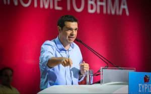 Τσίπρας: Η Ελλάδα προχωράει, η Ευρώπη αλλάζει