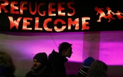 Διαδήλωση κατά της ξενοφοβίας στη Δρέσδη