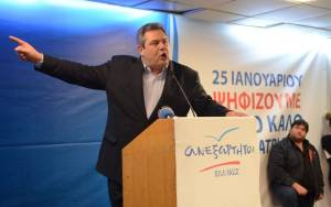 Εκλογές 2015 -Πάνος Καμμένος: Θα συνεργαστώ μόνο με τον ΣΥΡΙΖΑ