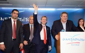Νικολόπουλος: «Οι ΑΝΕΛ θα είναι μία ισχυρή δύναμη στη Βουλή»
