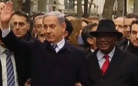 Παρίσι: Ο Νετανιάχου ευχαρίστησε τον ήρωα του εβραϊκού παντοπωλείου
