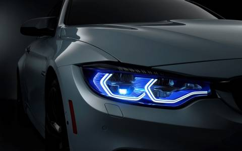 BMW: M4 Concept Iconic Lights